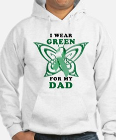 I Wear Green for my Dad Hoodie