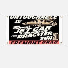Untouchable Jet Car Banner