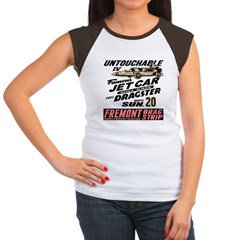 Untouchable Jet Car Women's Cap Sleeve T-Shirt