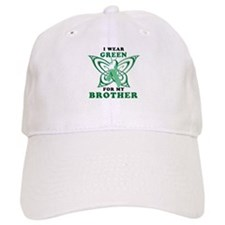 I Wear Green for my Brother Baseball Cap