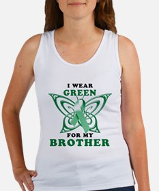 I Wear Green for my Brother Women's Tank Top