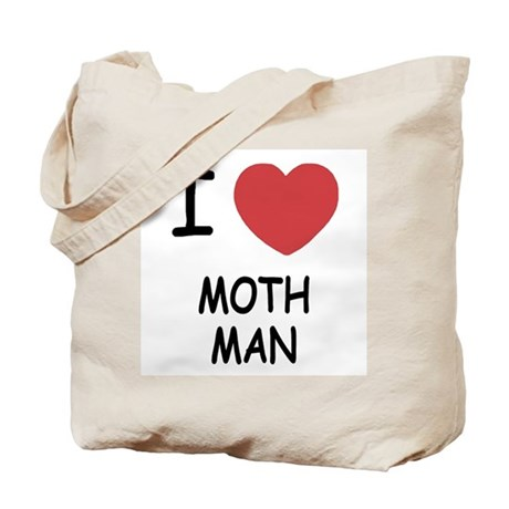 I heart mothman Tote Bag