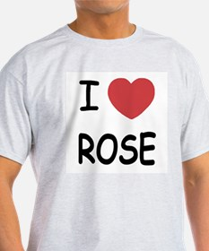 I heart rose T-Shirt