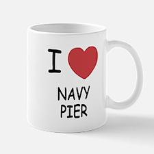I heart navy pier Mug