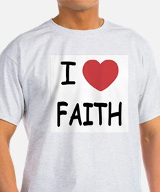 I heart faith T-Shirt