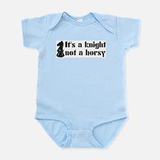 Knight Not A Horsy Chess Infant Bodysuit