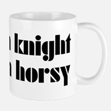 Knight Not A Horsy Chess Mug