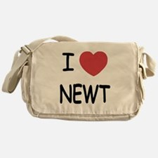 I heart newt Messenger Bag