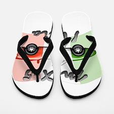 Cute Italy Flip Flops