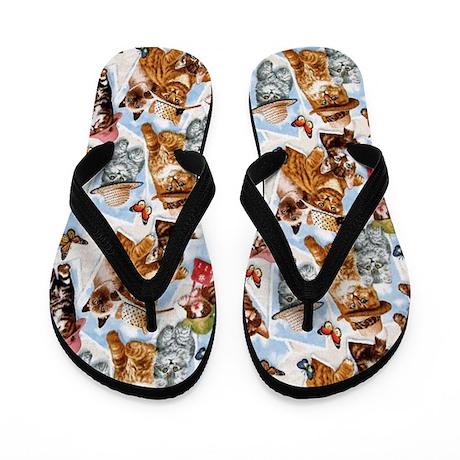 Cool Cat Flip Flops
