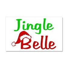Jingle Belle Car Magnet 20 x 12