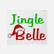 Jingle Belle Throw Blanket