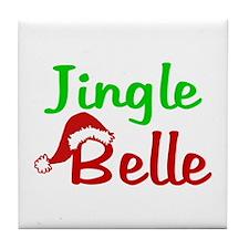 Jingle Belle Tile Coaster