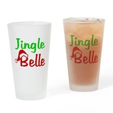 Jingle Belle Drinking Glass