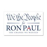 "Ron paul 12"" x 20"""