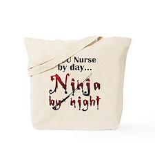 PICU Nurse Ninja Tote Bag