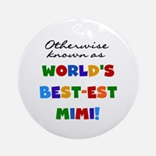Otherwise Known Best Mimi Ornament (Round)