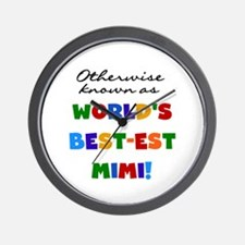 Otherwise Known Best Mimi Wall Clock