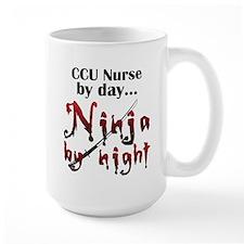 CCU Nurse Ninja Ceramic Mugs