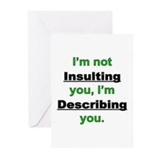 Not Insulting you Greeting Cards (Pk of 20)