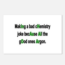Chem Joke Postcards (Package of 8)