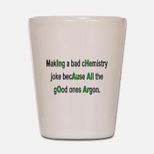 Chem Joke Shot Glass