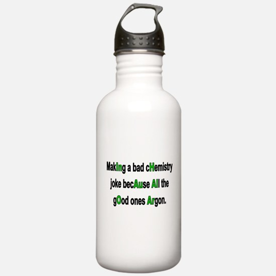 Chem Joke Water Bottle