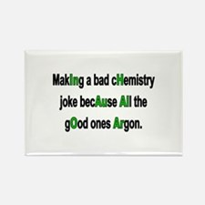 Chem Joke Rectangle Magnet