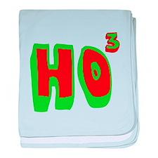 Ho3 (Ho, Ho, Ho) baby blanket