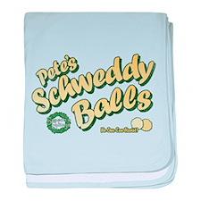 Schweddy Balls SNL baby blanket