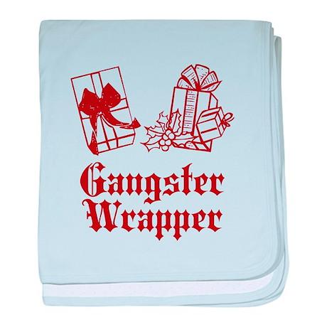 Gangster Wrapper baby blanket