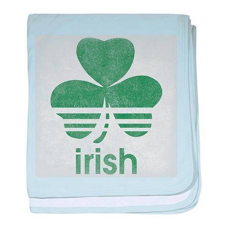 Vintage Irish Logo baby blanket