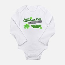 Special Leprechaun Flute Long Sleeve Infant Bodysu