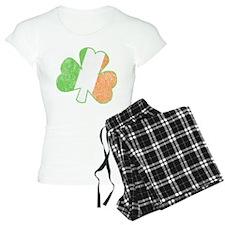 Vintage Irish Shamrock Pajamas
