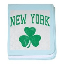 New York Irish baby blanket