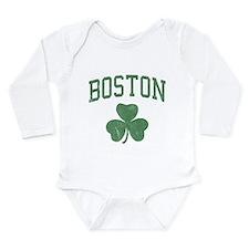 Boston Irish Long Sleeve Infant Bodysuit