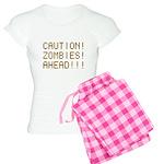 Caution Zombies Ahead Women's Light Pajamas