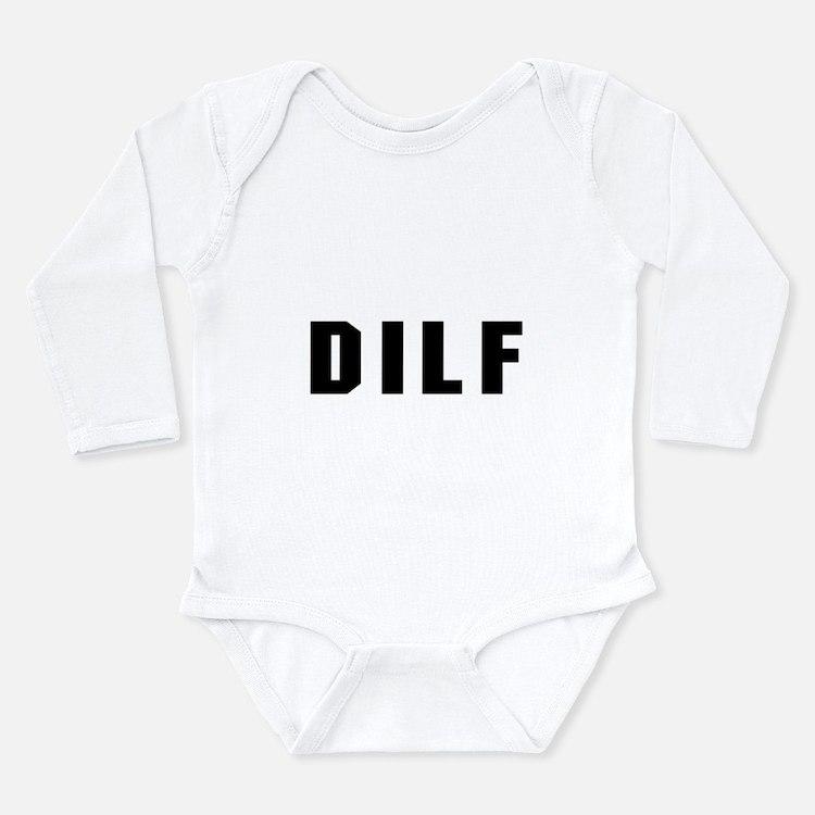 DILF Long Sleeve Infant Bodysuit