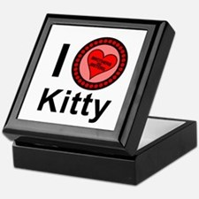 I Love Kitty Brothers & Sisters Keepsake Box