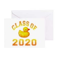 Class Of 2020 Duckie Greeting Card
