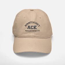 Nantucket MA - Varsity Design Baseball Baseball Cap