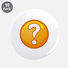"THE ANSWER 3.5"" Button (10 pack)"
