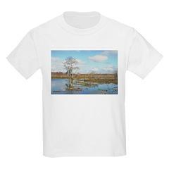 SWAMP VIEW Kids T-Shirt