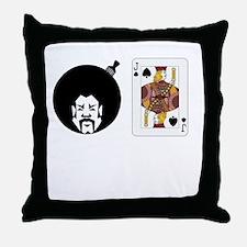 Afrojack Throw Pillow
