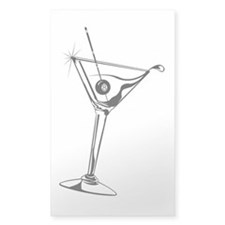 8-Ball Martini Decal