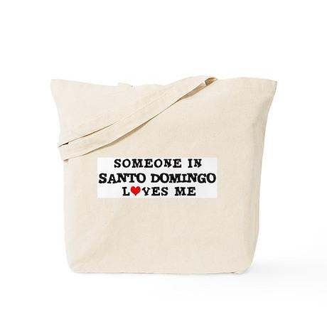 Someone in Santo Domingo Tote Bag