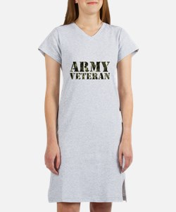 Army Veteran Women's Nightshirt