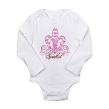 spoiled 2 Long Sleeve Infant Bodysuit