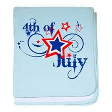 4th of July Designs baby blanket