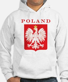 Poland Eagle Red Shield Hoodie